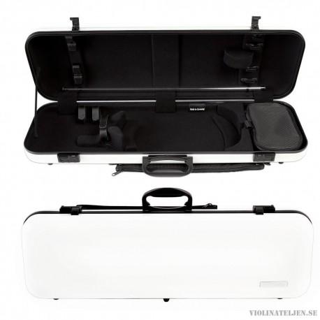 "Violinetui koffert Gewa ""Air 2.0"" kolfiber vit"