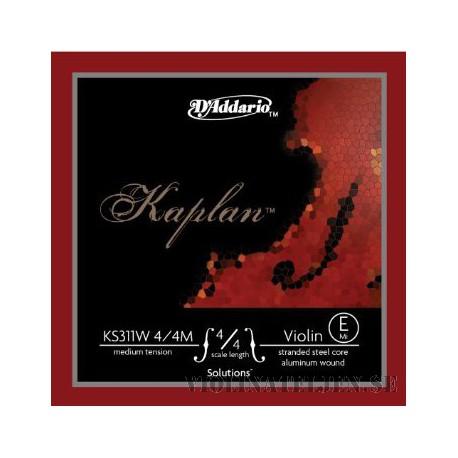 D´Addario Kaplan Solutions E spunnen Violin