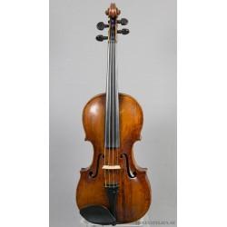 Violin med svårläst etikett. Österrike?