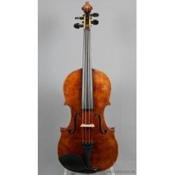 Violin med etikett: Carl August Völker Hanover 1900