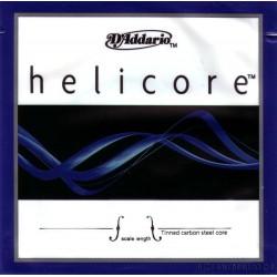 D`Addario Helicore Cello G wolfram/silver spunnen