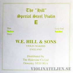 Hill original E