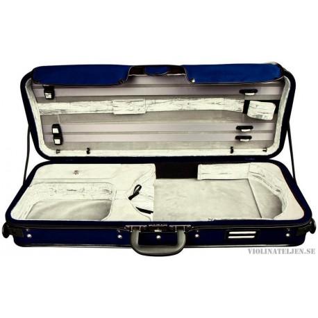 Violaetui koffert Gewa Strato de Luxe