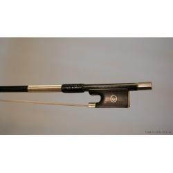 Violinstråke kolfiber F. D. Carbone * silver