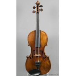 """Violin med etikett """"Lupot...."""