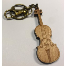 Nyckelring fiol