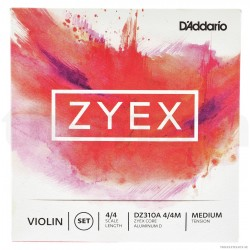 D`Addario Zyex (perlon) Violin set