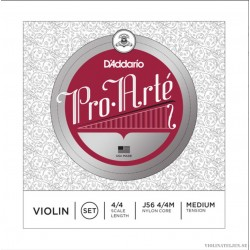 D`Addario Pro Arté Violin set