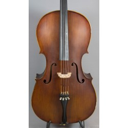 Cello Garimberti 4/4 med Larsensträngar, etui samt 2 stråkar