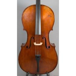 Cello byggd av Fritz Braun Markneukirchen.