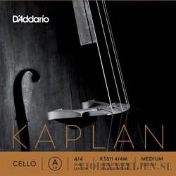 D´Addario Kaplan Solutions A titanspunnen Cello