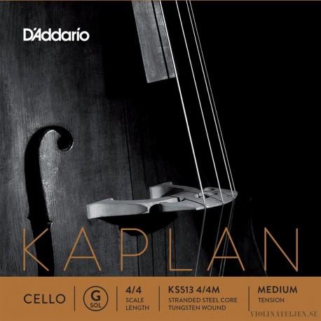 D´Addario Kaplan Solutions G Wolframspunnen Cello