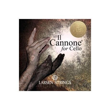 Larsen Il Cannone Cello set Gold